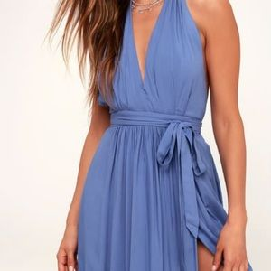 Blue maxi dress from Lulus